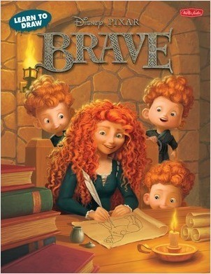 Cover: Learn to Draw Disney's Brave: Featuring favorite characters from the Disney∙Pixar film, including Merida and Angus