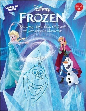Cover: Learn to Draw Disney's Frozen: Featuring Anna, Elsa, Olaf, and all your favorite characters!