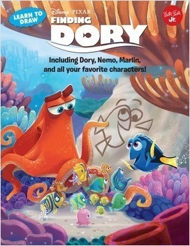 Cover: Learn to Draw Disney∙Pixar's Finding Dory: Including Dory, Nemo, Marlin, and all your favorite characters!