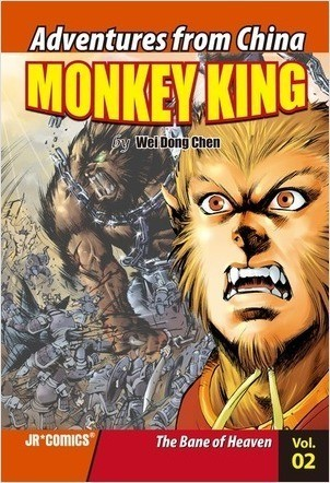 Cover: Monkey King Volume 02: The Bane of Heaven
