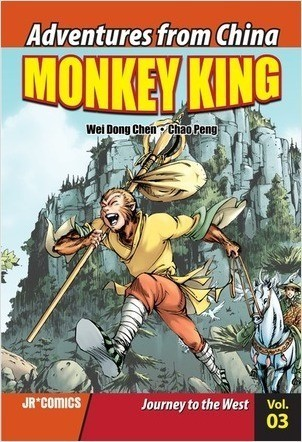 Cover: Monkey King Volume 03: Journey to the West