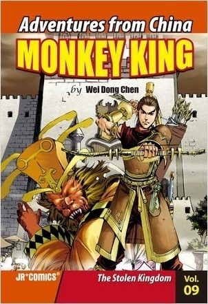 Cover: Monkey King Volume 09: The Stolen Kingdom