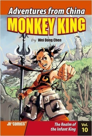Cover: Monkey King Volume 10: The Realm of the Infant King