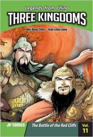Cover: Three Kingdoms Volume 11: The Battle of Red Cliffs
