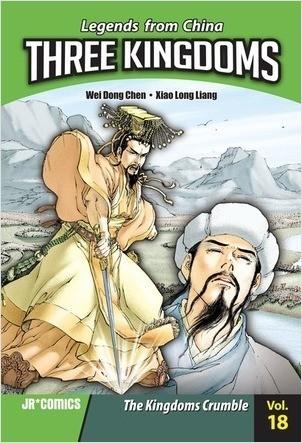 Cover: Three Kingdoms Volume 18: The Kingdoms Crumble