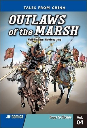 Cover: Outlaws of the Marsh Volume 4: Rags to Riches