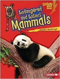 Cover: Endangered and Extinct Mammals