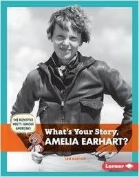 Cover: What's Your Story, Amelia Earhart?