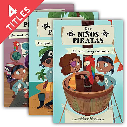 Cover: Los niсos piratas (Pirate Kids Set 1)