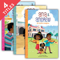 Cover: Ana & Andrew Set 2 (Spanish Version)