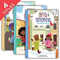 Cover: Ana & Andrew Set 1 (Spanish Version)